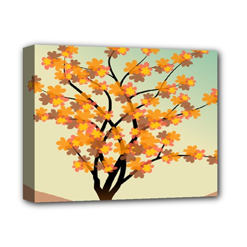 Branches Field Flora Forest Fruits Deluxe Canvas 14  X 11