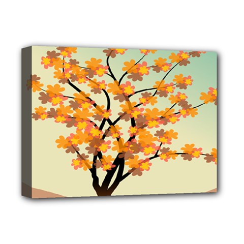 Branches Field Flora Forest Fruits Deluxe Canvas 16  X 12