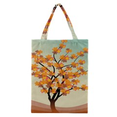 Branches Field Flora Forest Fruits Classic Tote Bag