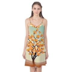 Branches Field Flora Forest Fruits Camis Nightgown