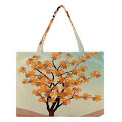 Branches Field Flora Forest Fruits Medium Tote Bag