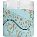 Branch Floral Flourish Flower Duvet Cover Double Side (California King Size) View1