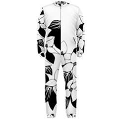 Ecological Floral Flowers Leaf Onepiece Jumpsuit (men)