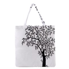 Flowers Landscape Nature Plant Grocery Tote Bag