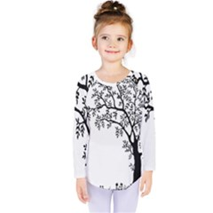 Flowers Landscape Nature Plant Kids  Long Sleeve Tee