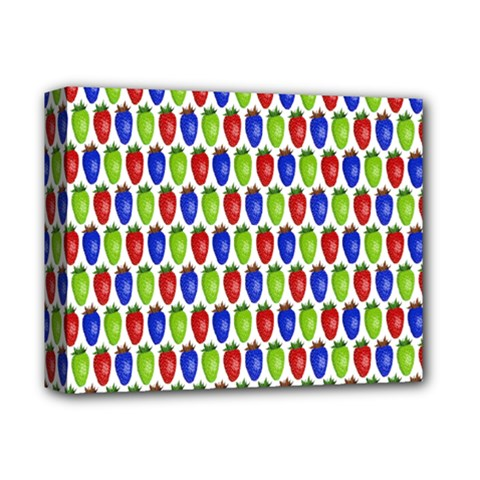 Colorful Shiny Eat Edible Food Deluxe Canvas 14  X 11
