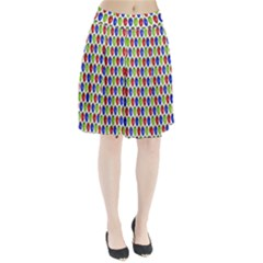 Colorful Shiny Eat Edible Food Pleated Skirt