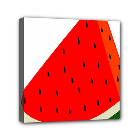 Fruit Harvest Slice Summer Mini Canvas 6  X 6