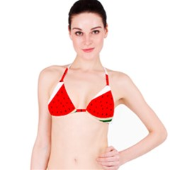Fruit Harvest Slice Summer Bikini Top