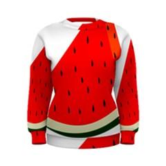 Fruit Harvest Slice Summer Women s Sweatshirt