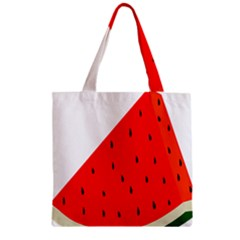 Fruit Harvest Slice Summer Zipper Grocery Tote Bag