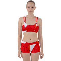 Fruit Harvest Slice Summer Women s Sports Set