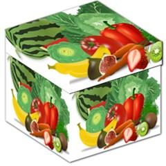 Fruits Vegetables Artichoke Banana Storage Stool 12