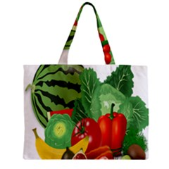 Fruits Vegetables Artichoke Banana Mini Tote Bag