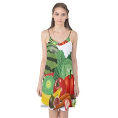 Fruits Vegetables Artichoke Banana Camis Nightgown