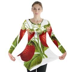 Food Fruit Leaf Leafy Leaves Long Sleeve Tunic