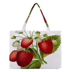 Food Fruit Leaf Leafy Leaves Medium Tote Bag