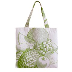 Fruits Vintage Food Healthy Retro Grocery Tote Bag