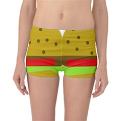 Hamburger Food Fast Food Burger Boyleg Bikini Bottoms
