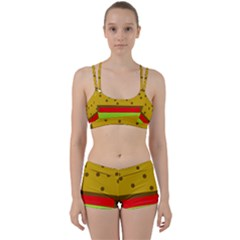 Hamburger Food Fast Food Burger Women s Sports Set