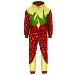 Nature Deserts Objects Isolated Hooded Jumpsuit (men)