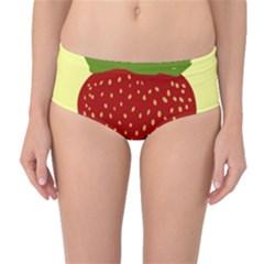 Nature Deserts Objects Isolated Mid Waist Bikini Bottoms