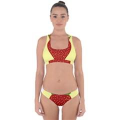 Nature Deserts Objects Isolated Cross Back Hipster Bikini Set