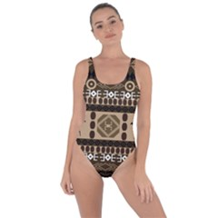Giraffe African Vector Pattern Bring Sexy Back Swimsuit