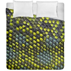 Lizard Animal Skin Duvet Cover Double Side (california King Size)