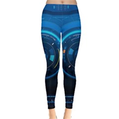 Technology Dashboard Leggings