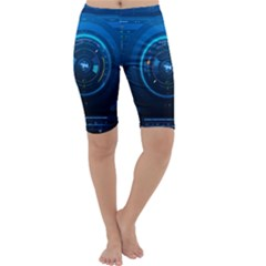 Technology Dashboard Cropped Leggings