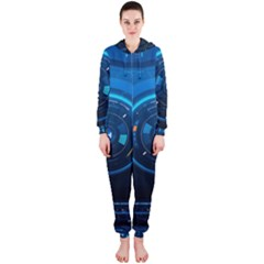 Technology Dashboard Hooded Jumpsuit (ladies)