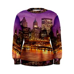 City Night Women s Sweatshirt
