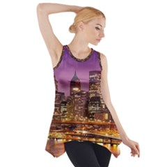 City Night Side Drop Tank Tunic