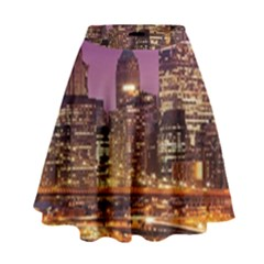 City Night High Waist Skirt