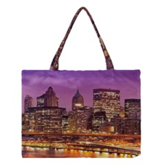 City Night Medium Tote Bag