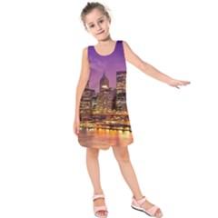 City Night Kids  Sleeveless Dress