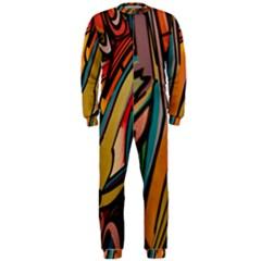 Vivid Colours Onepiece Jumpsuit (men)