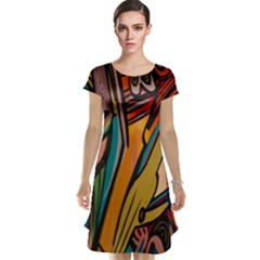 Vivid Colours Cap Sleeve Nightdress