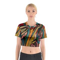 Vivid Colours Cotton Crop Top