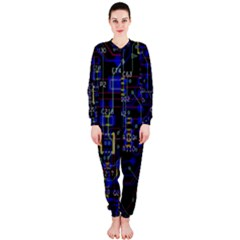 Technology Circuit Board Layout Onepiece Jumpsuit (ladies)