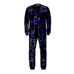 Technology Circuit Board Layout Onepiece Jumpsuit (kids)