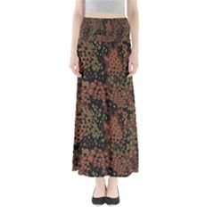 Digital Camouflage Full Length Maxi Skirt