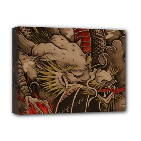 Chinese Dragon Deluxe Canvas 16  X 12