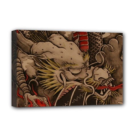 Chinese Dragon Deluxe Canvas 18  X 12