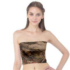 Chinese Dragon Tube Top