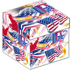United States Of America Usa  Images Independence Day Storage Stool 12