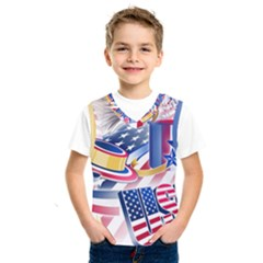 United States Of America Usa  Images Independence Day Kids  Sportswear