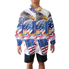 United States Of America Usa  Images Independence Day Wind Breaker (kids)