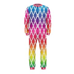 Colorful Rainbow Moroccan Pattern Onepiece Jumpsuit (kids)